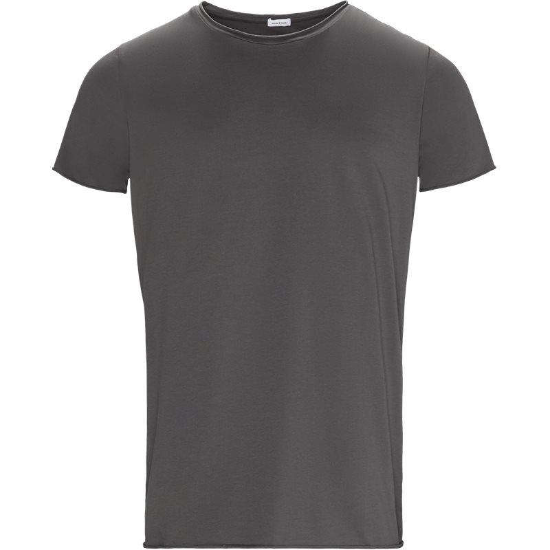Son of a tailor raw edge t-shirt grey fra son of a tailor fra axel.dk