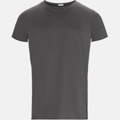 RAW EDGE t-shirt Regular slim fit | RAW EDGE t-shirt | Grå