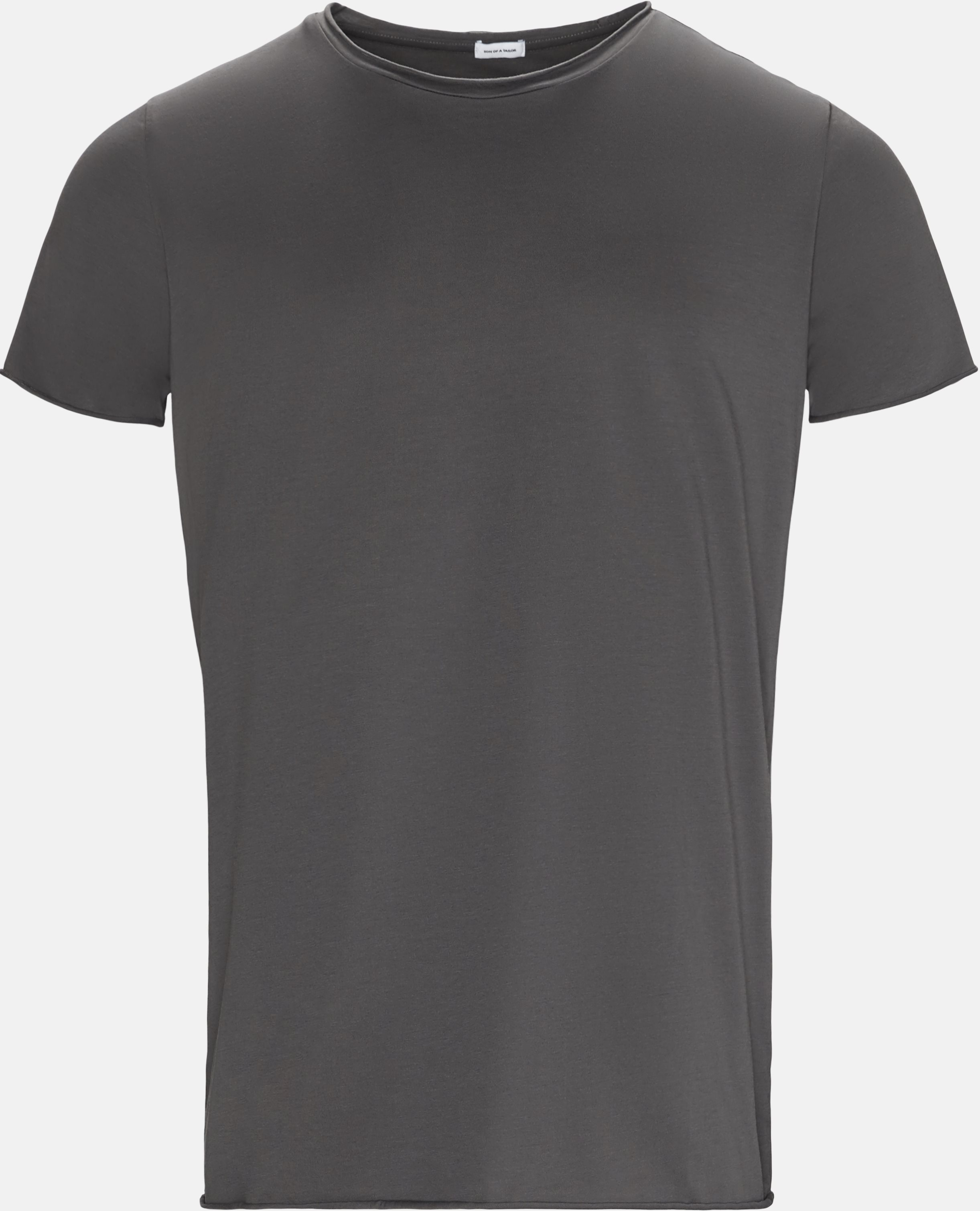 T-shirts - Regular slim fit - Grey