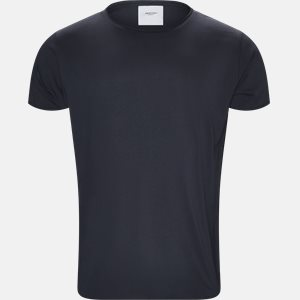 RAW EDGE t-shirt Regular slim fit | RAW EDGE t-shirt | Blå