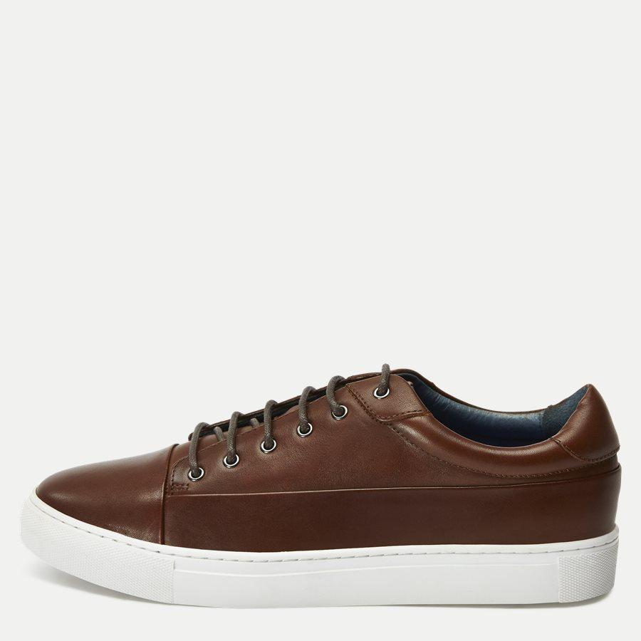 7090 - TGA Skind Sneaker - Sko - COGNAC - 1