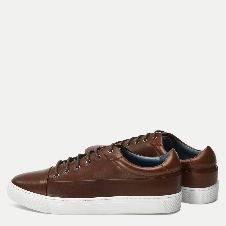 7090 - TGA Skind Sneaker - Sko - COGNAC - 3