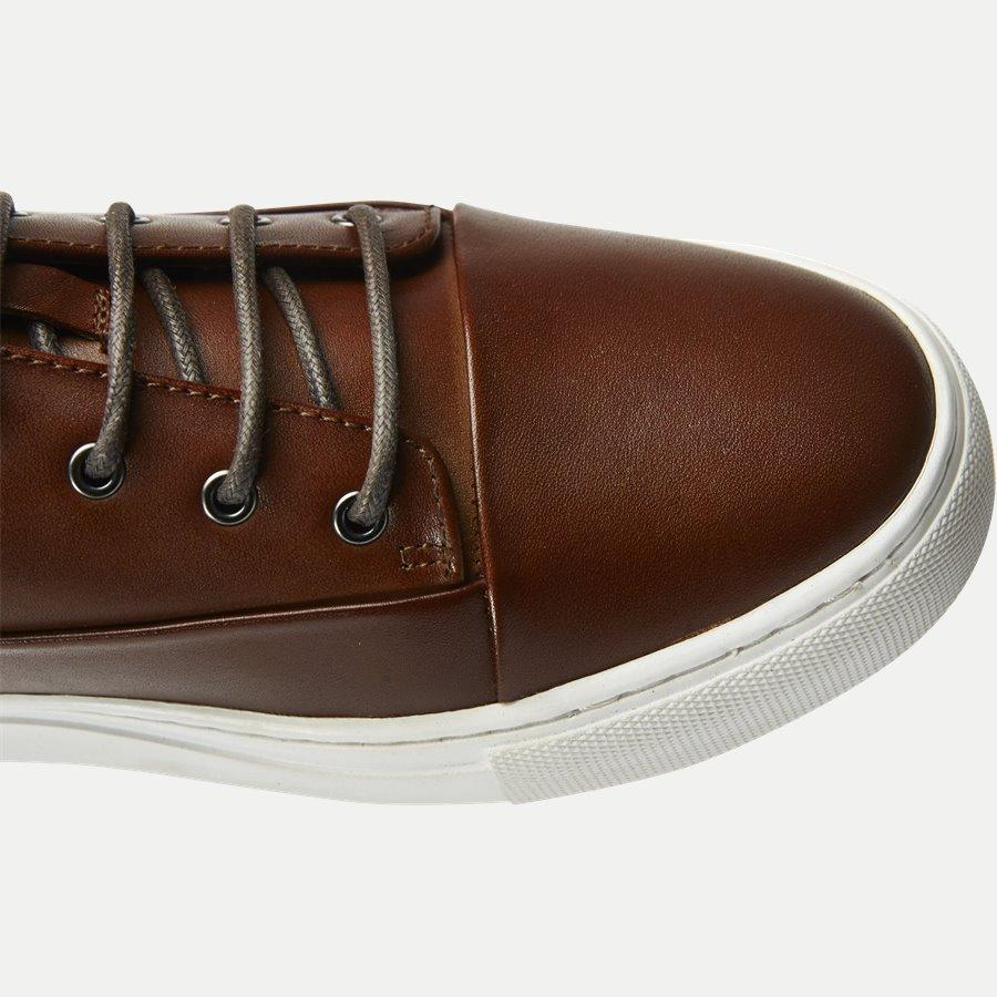 7090 - TGA Skind Sneaker - Sko - COGNAC - 4