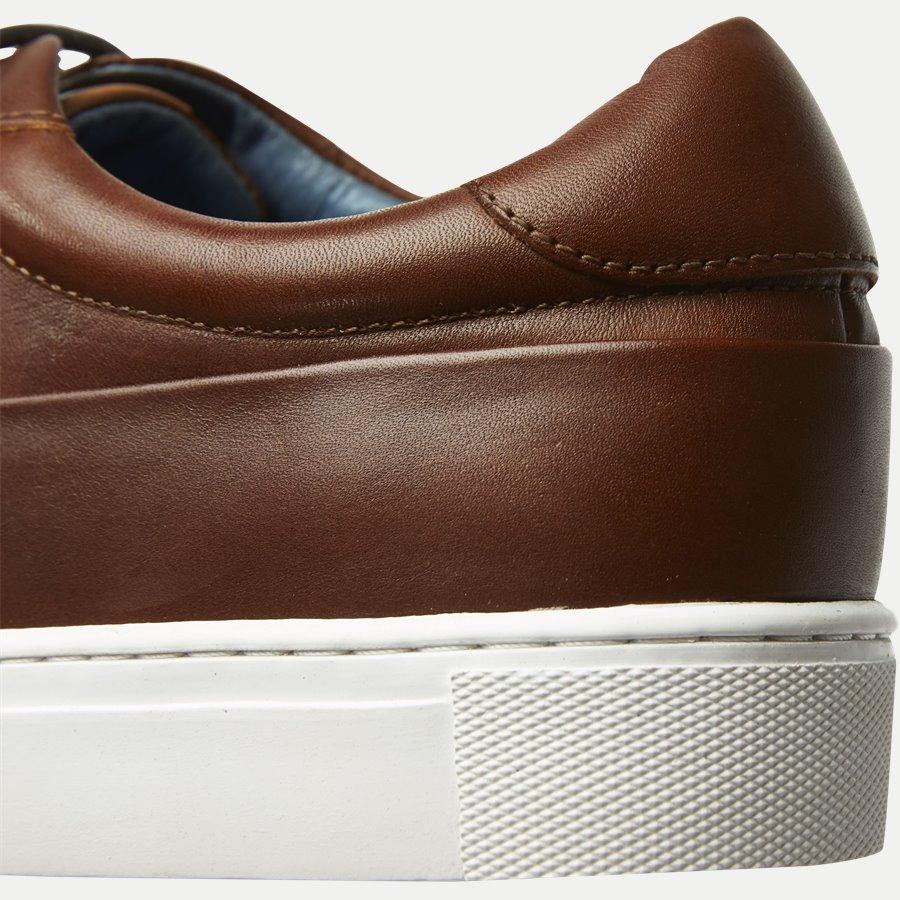 7090 - TGA Skind Sneaker - Sko - COGNAC - 5