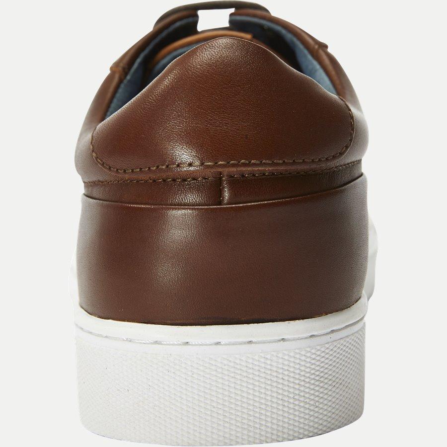 7090 - TGA Skind Sneaker - Sko - COGNAC - 7