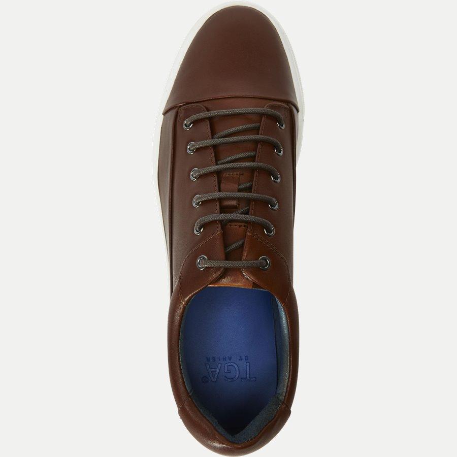 7090 - TGA Skind Sneaker - Sko - COGNAC - 8