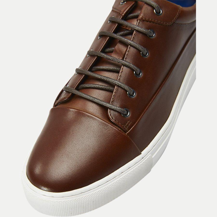 7090 - TGA Skind Sneaker - Sko - COGNAC - 10