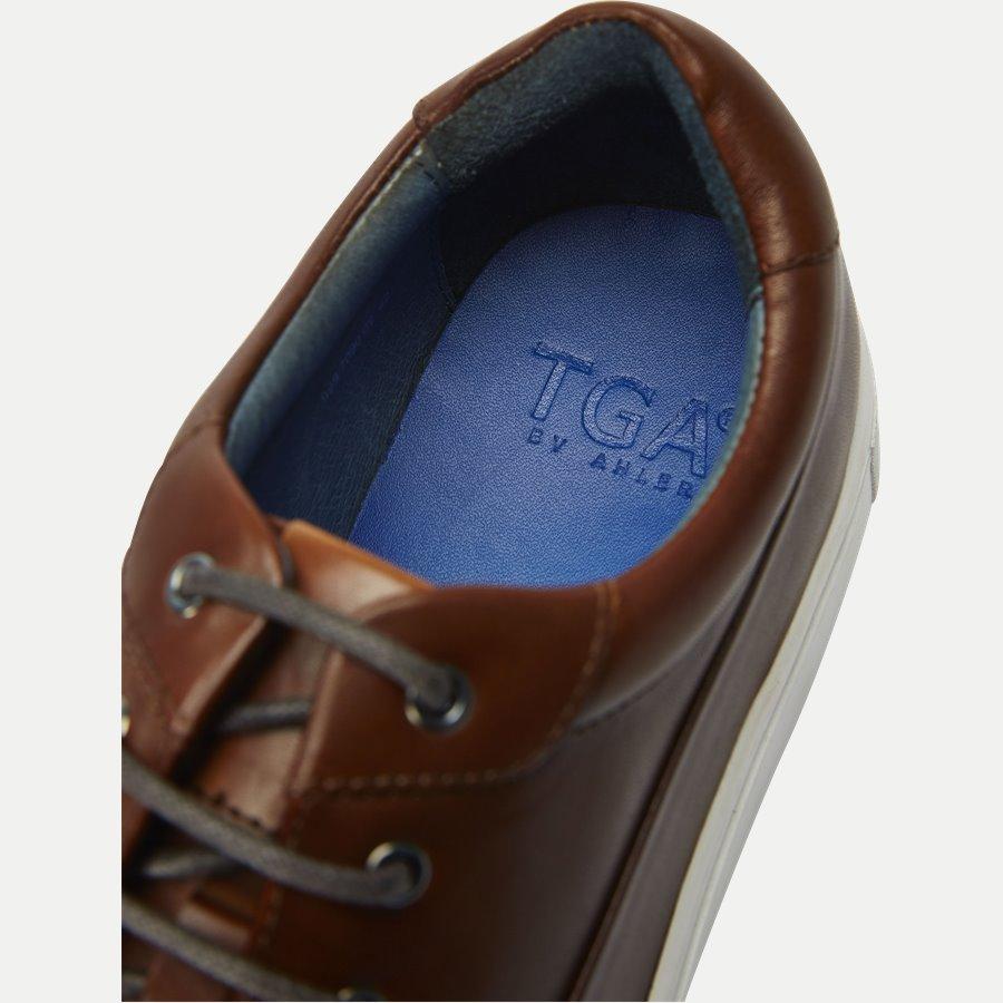 7090 - TGA Skind Sneaker - Sko - COGNAC - 11
