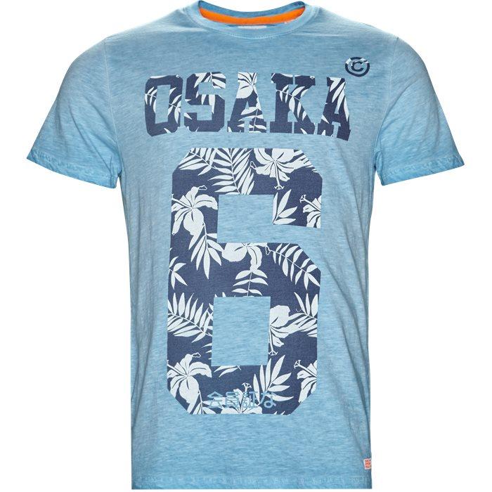 M10012FO - T-shirts - Regular - Turkis