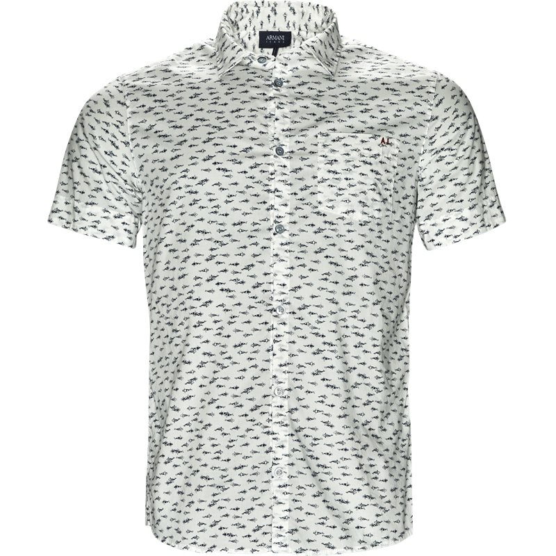 Armani Jeans - Kortærmet Skjorte
