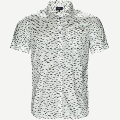 Kortærmet Skjorte Slim | Kortærmet Skjorte | Hvid