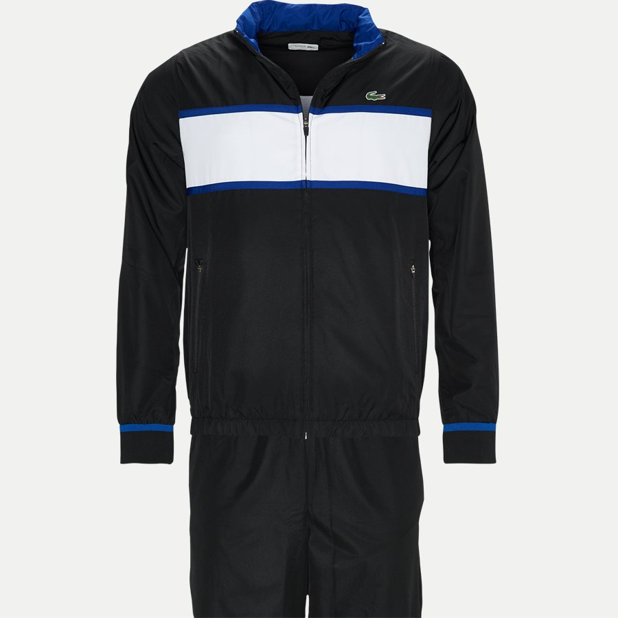 abc031be51 WH2081 - Colorblock Tennis Tracksuit - Sweatshirts - Regular - SORT - 1.  Lacoste