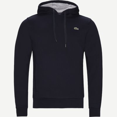 Hooded Fleece Tennis Sweatshirt Regular | Hooded Fleece Tennis Sweatshirt | Blå