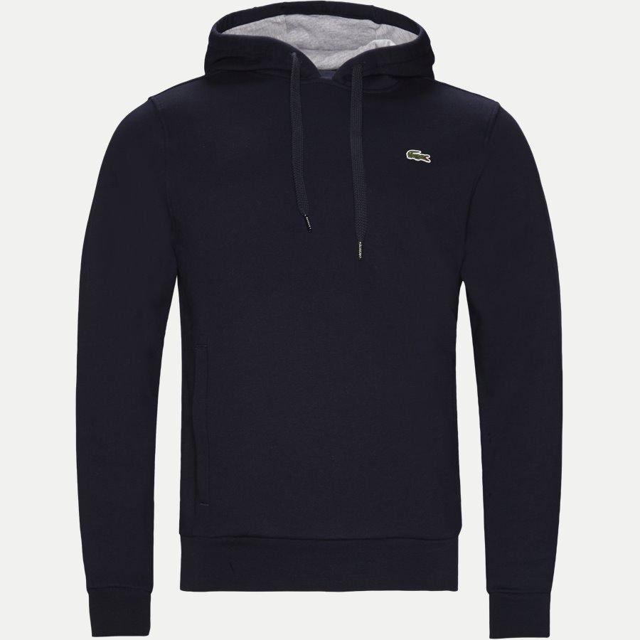 SH2128 - Hooded Fleece Tennis Sweatshirt - Sweatshirts - Regular - NAVY - 1