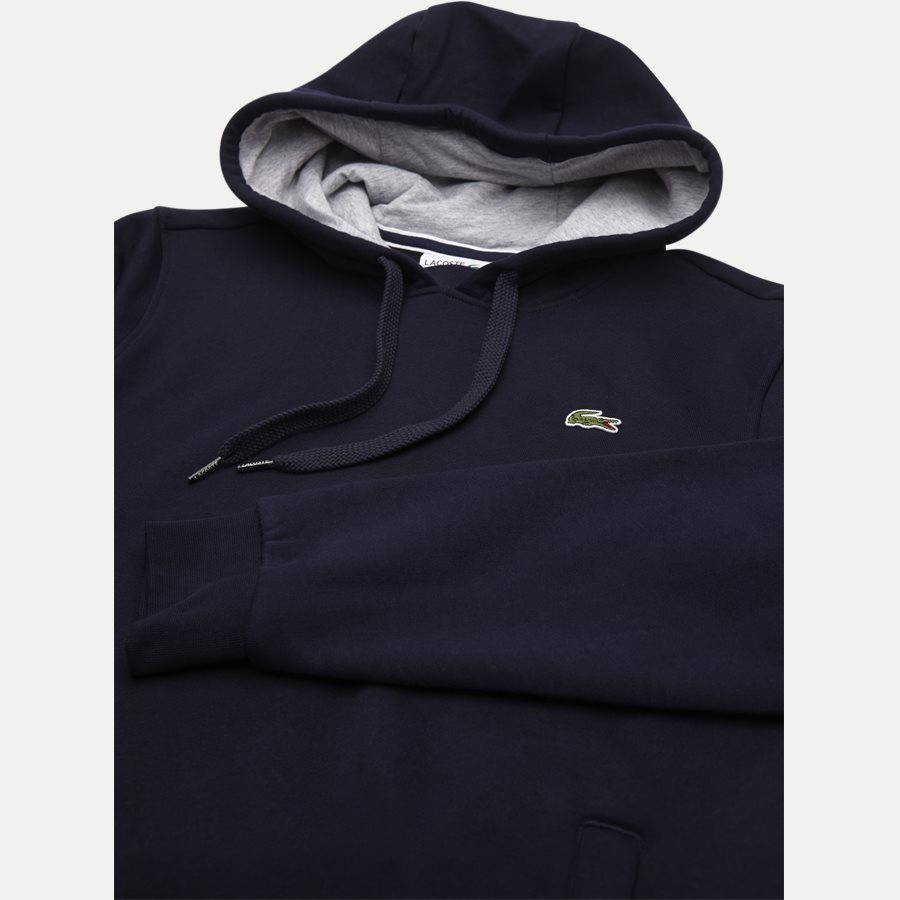 SH2128 - Hooded Fleece Tennis Sweatshirt - Sweatshirts - Regular - NAVY - 3