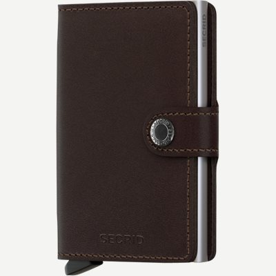 M Original Mini Wallet M Original Mini Wallet   Brun