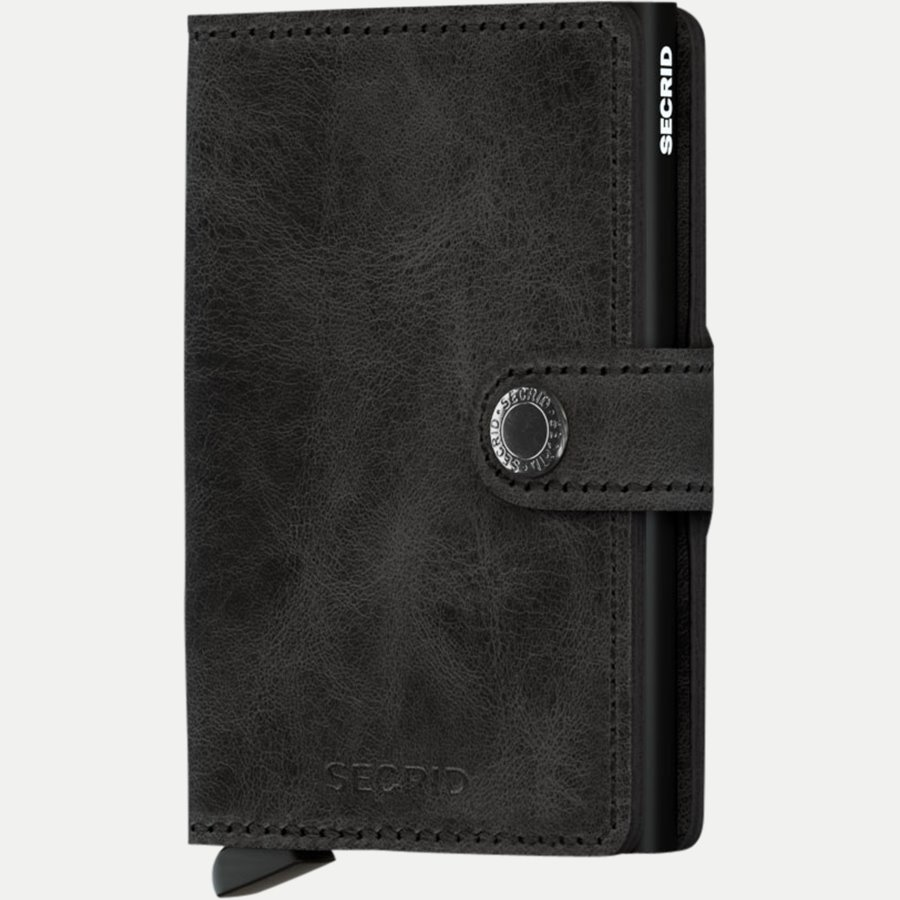 MV VINTAGE - Mv Vintage Mini Wallet - Accessories - BLACK - 1
