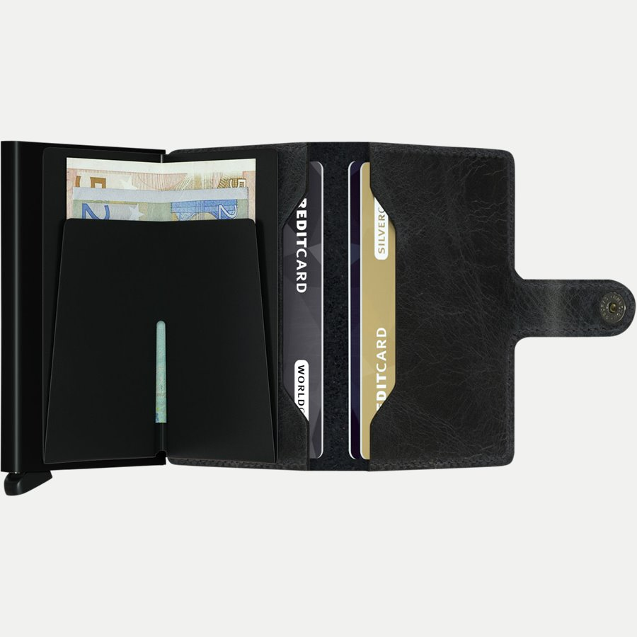 MV VINTAGE - Mv Vintage Mini Wallet - Accessories - BLACK - 3