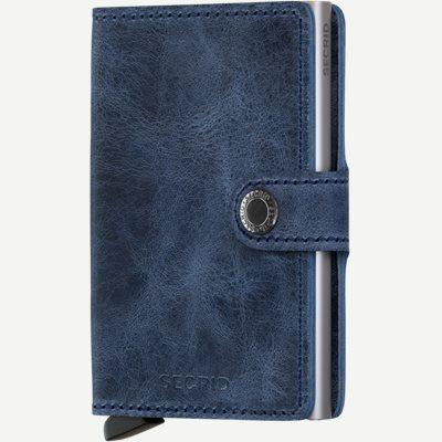 Mv Vintage Mini Wallet Mv Vintage Mini Wallet | Blå