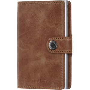 Mv Vintage Mini Wallet Mv Vintage Mini Wallet | Brun