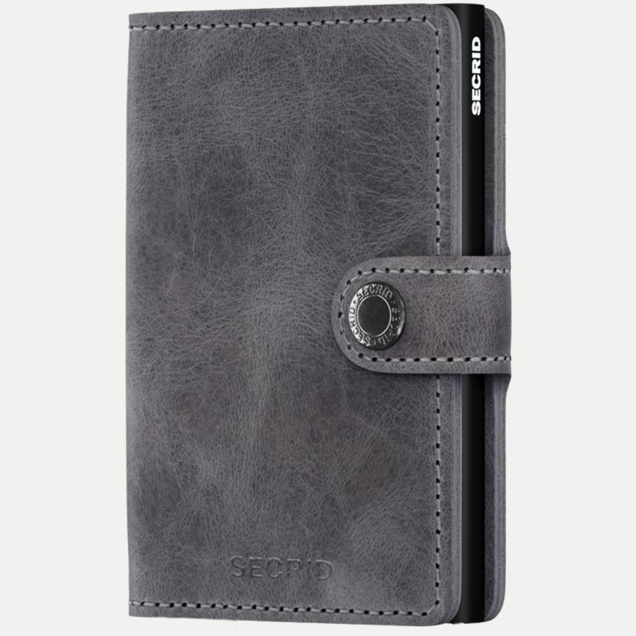 MV VINTAGE - Mv Vintage Mini Wallet - Accessories - GREY/BLACK - 1