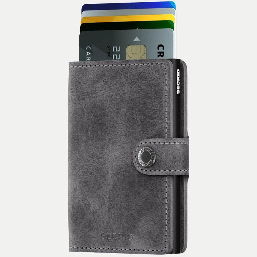 MV VINTAGE - Mv Vintage Mini Wallet - Accessories - GREY/BLACK - 2