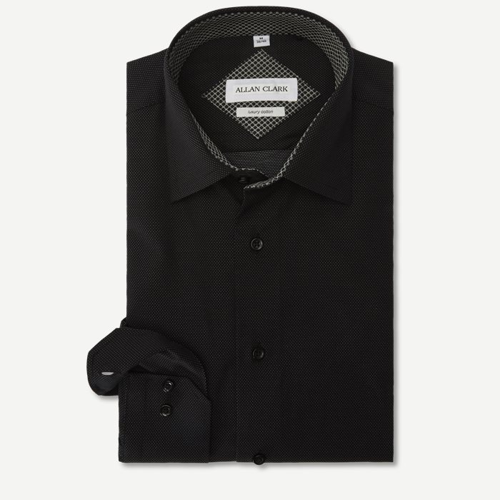 Morata Skjorte - Skjorter - Modern fit - Sort