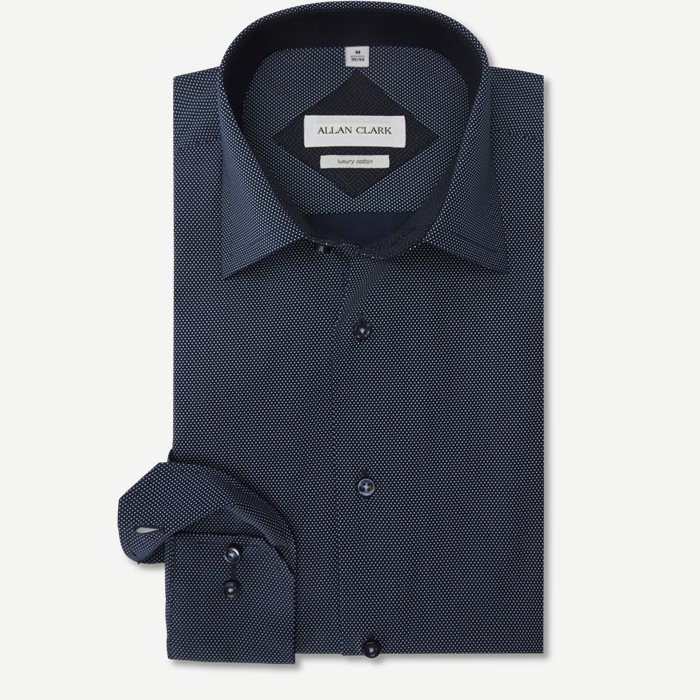 Gomez Skjorte - Skjorter - Regular - Blå
