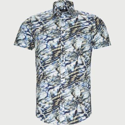 Iver Kortærmet Skjorte Slim | Iver Kortærmet Skjorte | Sand