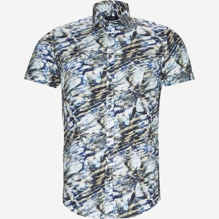 Iver Kortærmet Skjorte - Kortærmede skjorter - Slim - Sand