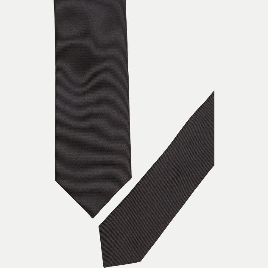 50324543.. - Krawatten - SORT - 2