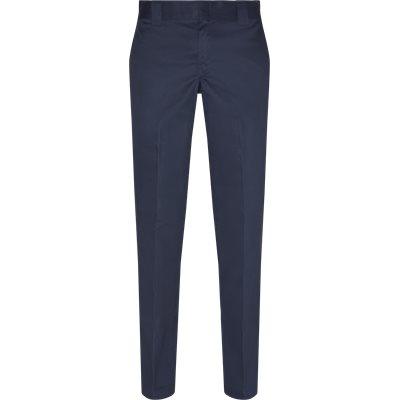 Slim | Byxor | Blå