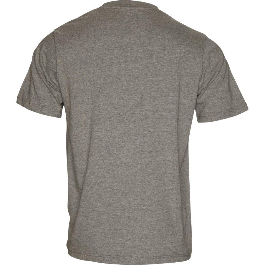HORSESHOE TEE 00075 - Horseshoe Tee - T-shirts - Regular - GRÅ - 2