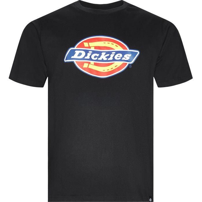 Horseshoe Tee - T-shirts - Regular - Sort