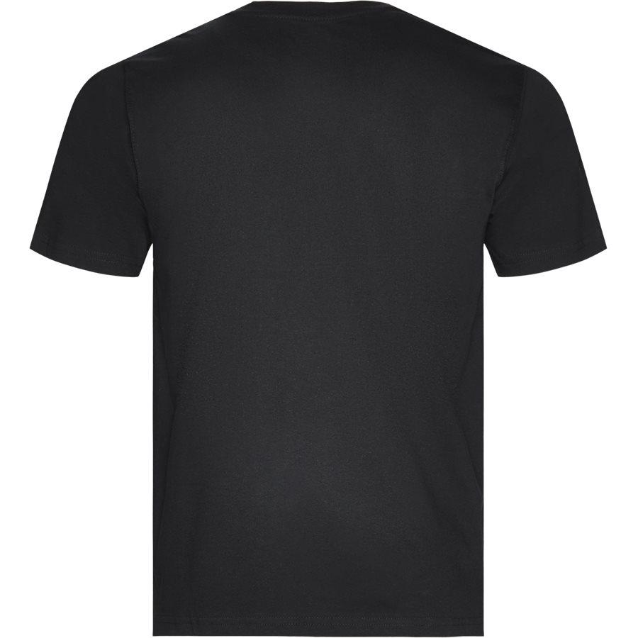 HORSESHOE TEE 00075 - Horseshoe Tee - T-shirts - Regular - SORT - 2