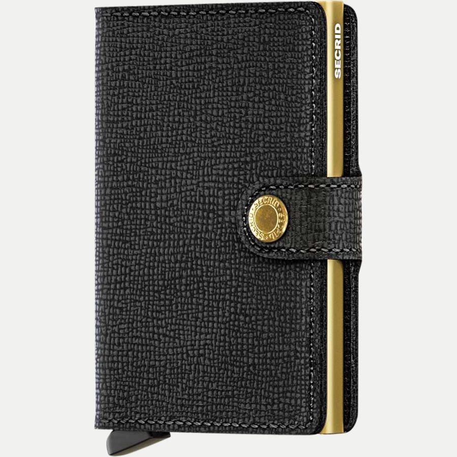 MC CRISPLE - Mc Crisple Mini Wallet - Accessories - BLACK/GOLD - 1