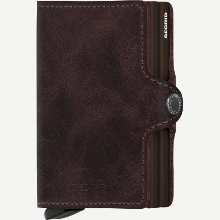 Tv Vintage Twinwallet - Accessories - Brun