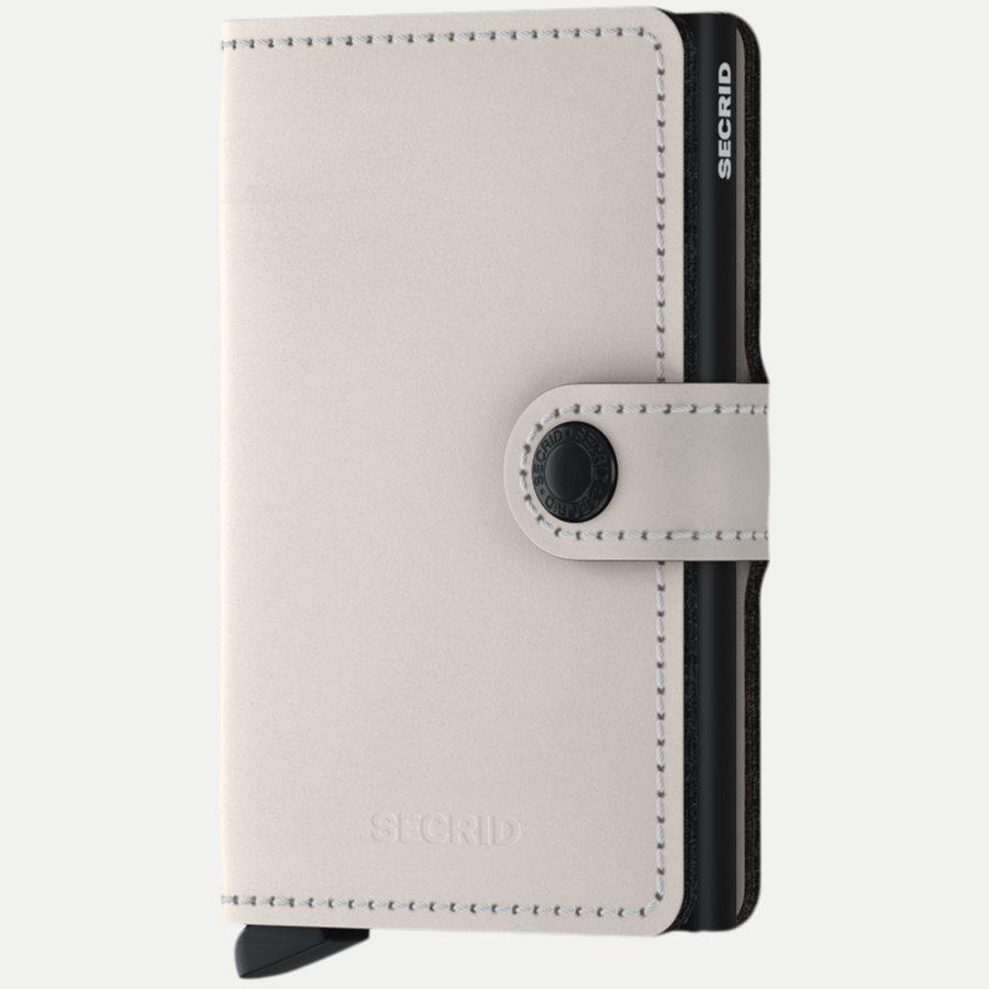 MM MATTE - Mm Matte Mini Wallet - Accessories - CHALK - 1