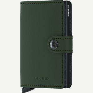 Mm Matte Mini Wallet Mm Matte Mini Wallet | Grøn