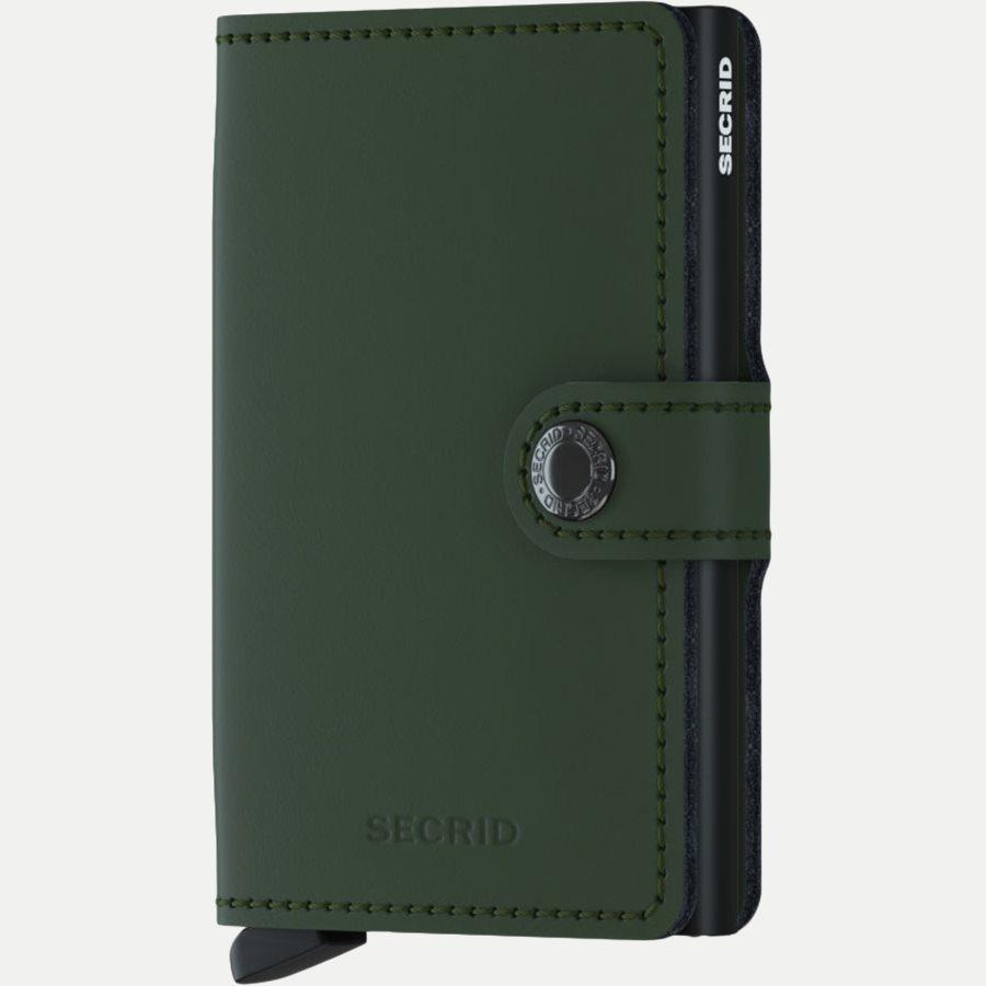 MM MATTE - Mm Matte Mini Wallet - Accessories - GREEN - 1