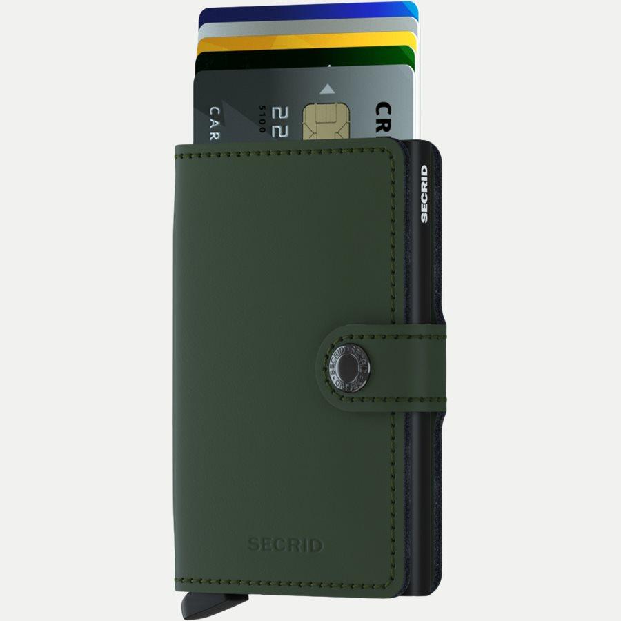 MM MATTE - Mm Matte Mini Wallet - Accessories - GREEN - 2