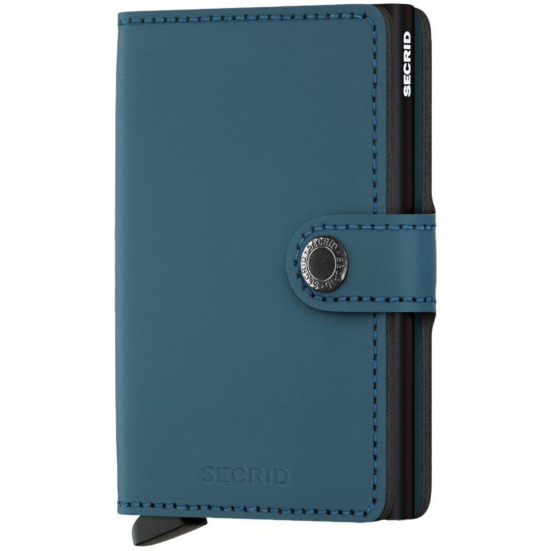 Secrid - mm matte mini wallet fra secrid fra kaufmann.dk