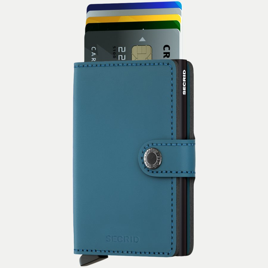 MM MATTE - Mm Matte Mini Wallet - Accessories - PETROL - 2
