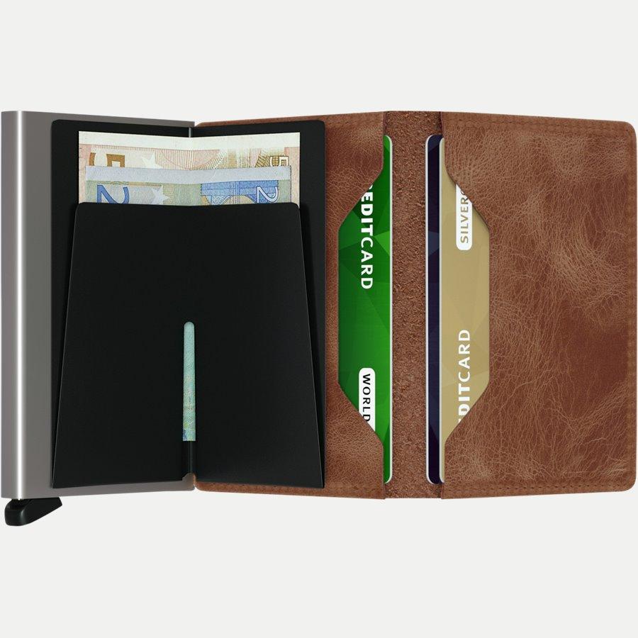 SV VINTAGE - Sv Vintage Slim Wallet - Accessories - COGNAC - 3