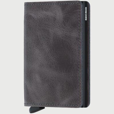 Sv Vintage Slim Wallet Sv Vintage Slim Wallet | Grå
