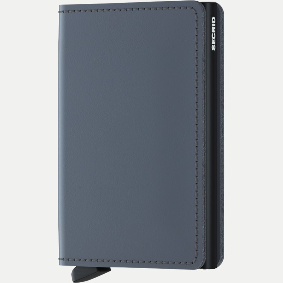 SM MATTE - Sm Matte Slimwallet - Accessories - GREY - 1