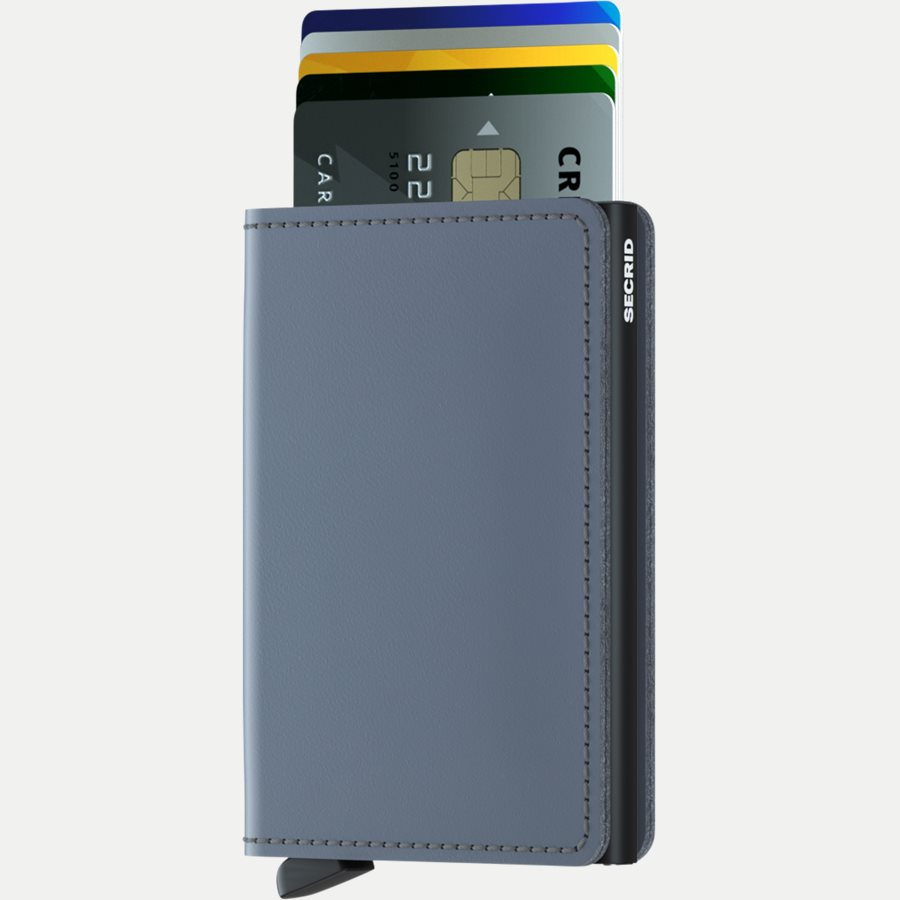 SM MATTE - Sm Matte Slimwallet - Accessories - GREY - 2