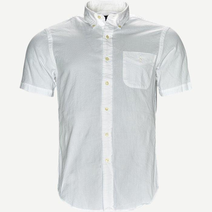 Kortärmade skjortor - Slim - Vit