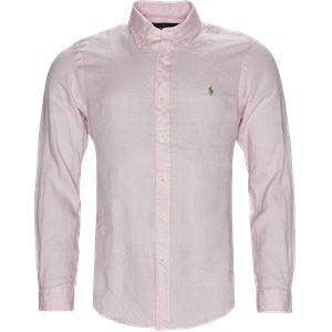 Ocean Wash Skjorte Slim | Ocean Wash Skjorte | Pink