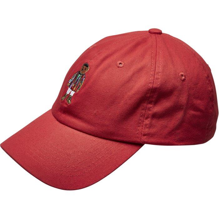 Kepsar - Regular - Röd